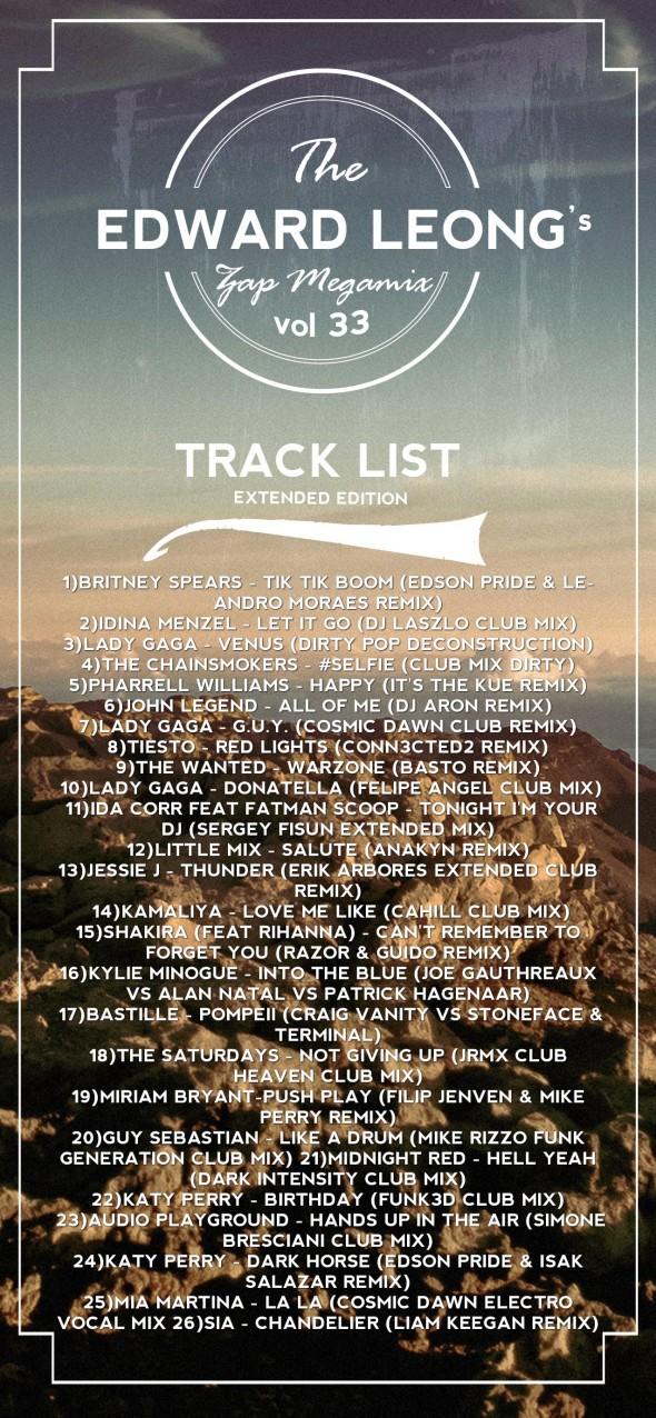 vol 33 tracklist