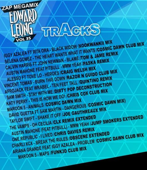 vol 35 tracks